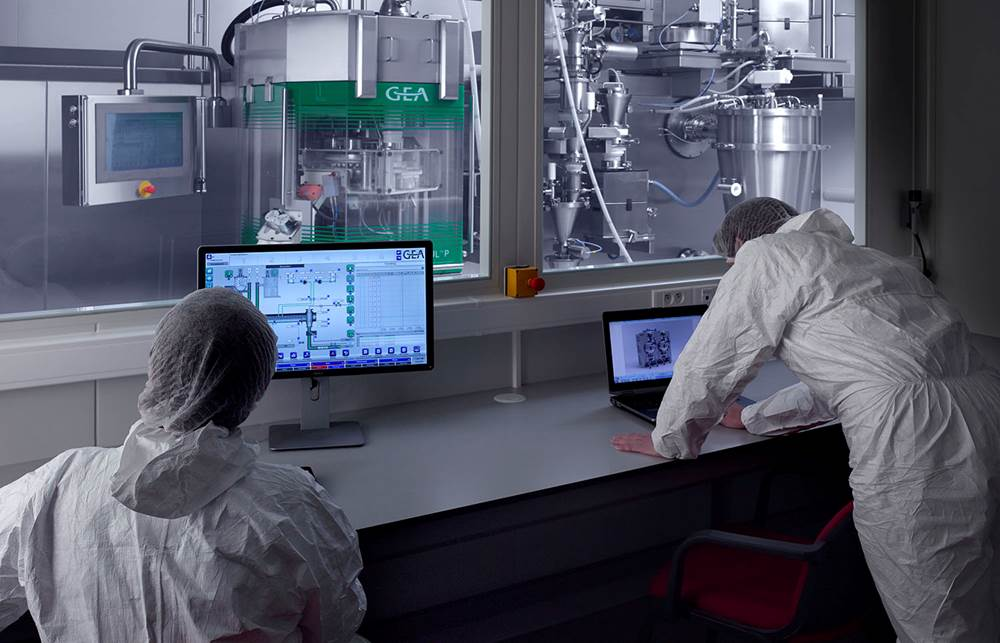 The ConsiGma-25 continuous manufacturing platform by GEA Pharma Systems (Wommelgem, Belgium)