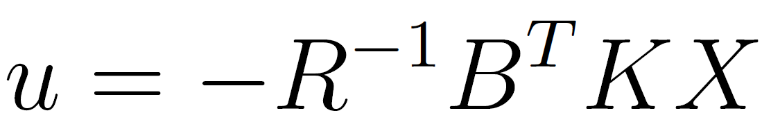 LQ Regulator Equation